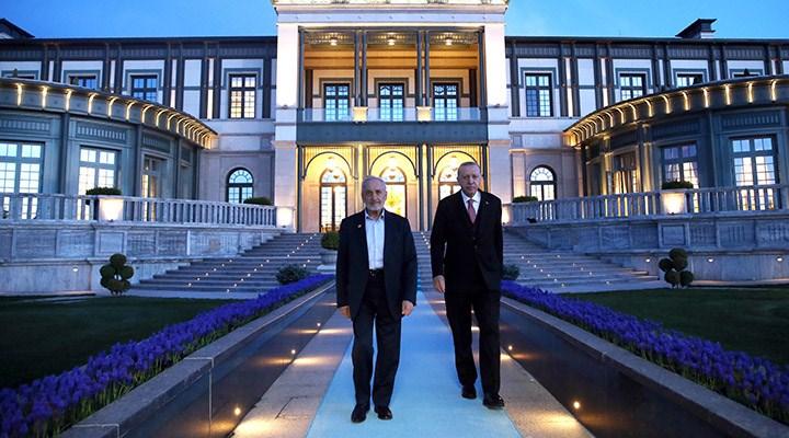 Erdoğan ile Oğuzhan Asiltürk Saray'da bir araya geldi