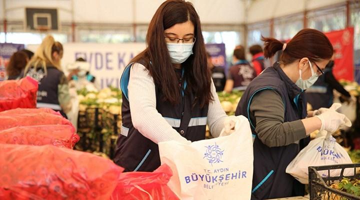Aydın Büyükşehir Belediyesi'nden üreticilere destek