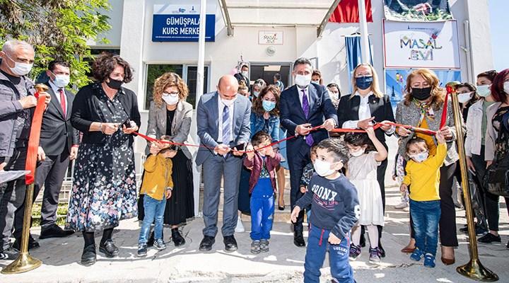 İzmir'de 10'uncu 'Masal Evi' Gümüşpala'da açıldı