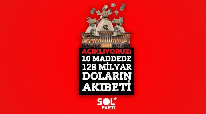SOL Parti, 10 maddede 128 milyar doların akıbetini açıkladı