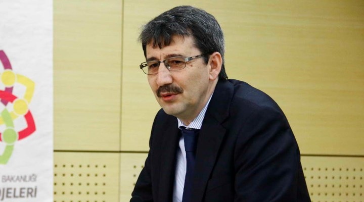 Yeni atanan rektör, Bilal Erdoğan'a da teşekkür etti