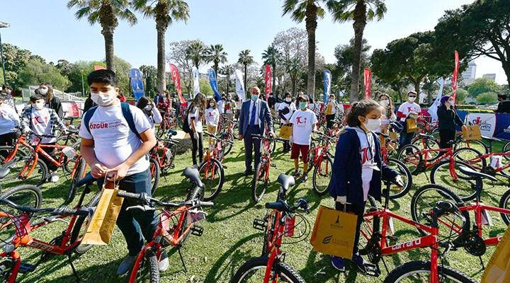 23 Nisan'da 101 çocuğa 101 bisiklet