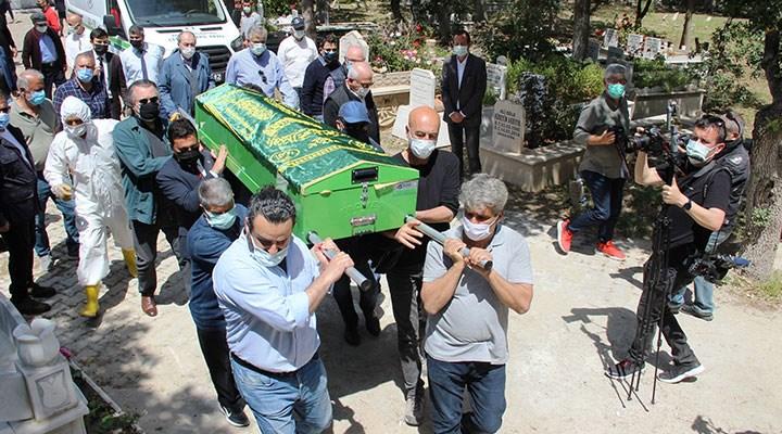 Gazeteci Selahattin Duman son yolculuğuna uğurlandı