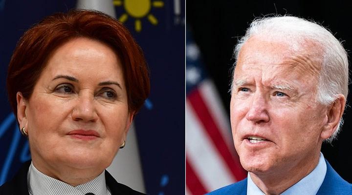 Meral Akşener'den Joe Biden'a mektup