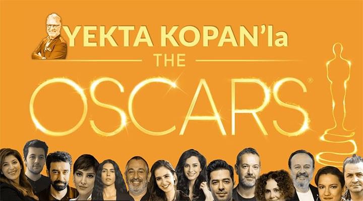 Yekta Kopan'ın bol konuklu 'Oscar özel' yayını YouTube'da canlı yayınlanacak