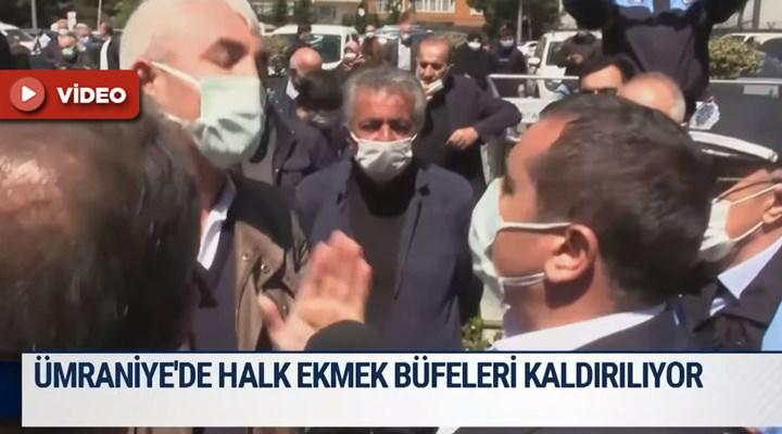 AKP'li belediyeler 'Halk Ekmek büfeleriyle mücadelede': Üsküdar'dan sonra Ümraniye'de de engel girişimi!