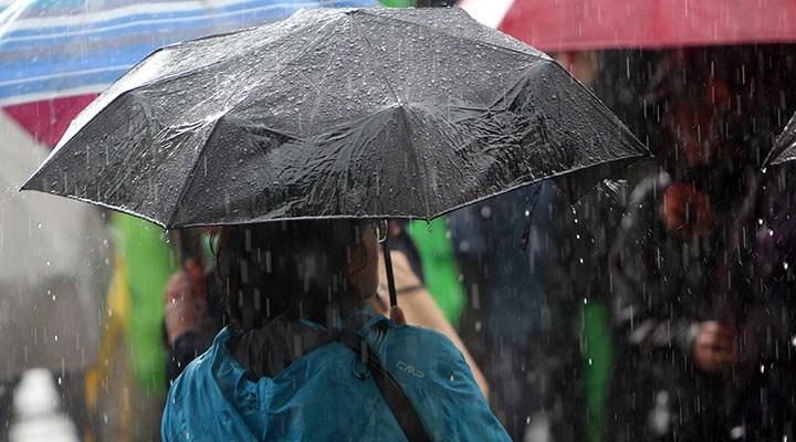 Meteoroloji saat vererek uyardı: Birçok bölgede yağış bekleniyor