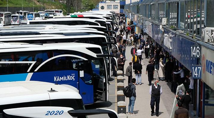 İstanbul'da şehirler arası otobüs seferleri iki katına çıktı