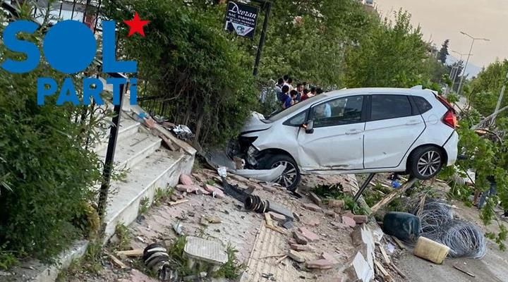 SOL Parti'den Hatay'da 4 kişinin hayatını kaybettiği kazaya tepki: İhmaller sonucu meydana gelmiştir!