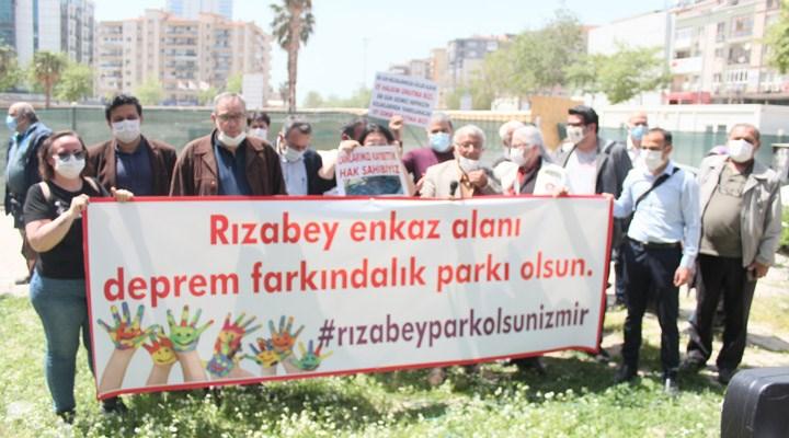 400 demokratik kitle örgütü çağrıda bulundu: Rızabey enkaz alanı 'deprem farkındalık parkı' olsun