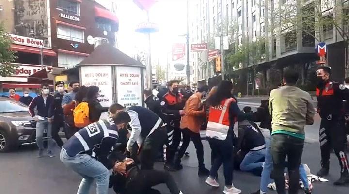 1 Mayıs eylemlerine polis müdahalesi: Çok sayıda kişi gözaltına alındı!