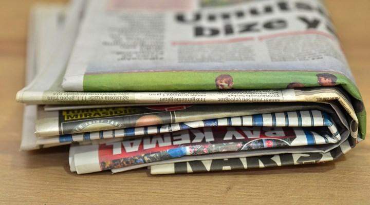 Polis, bayiden gazete topladı: Yoğunluk yaratıyormuş!
