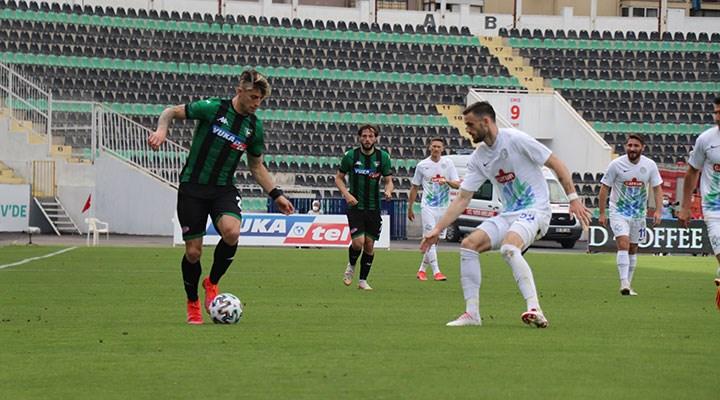 Süper Lig'de küme düşen ilk takım Denizlispor oldu