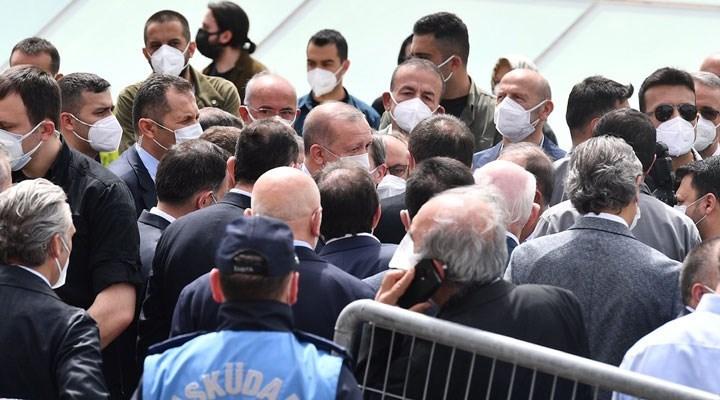 Erdoğan'ın katıldığı cenaze töreni için suç duyurusu