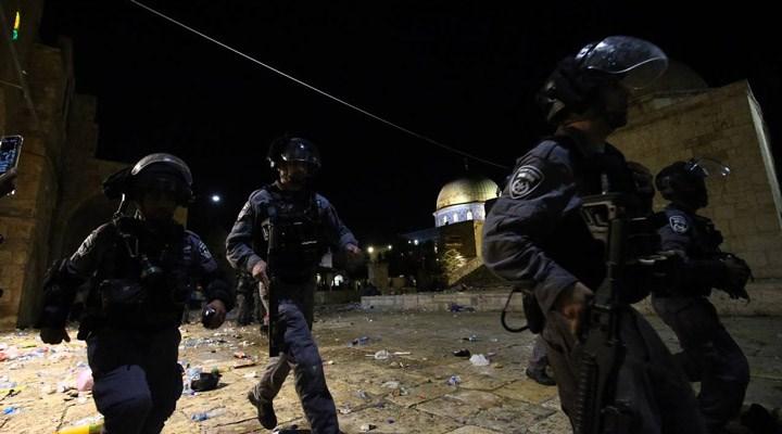 İsrail polisi, Filistinlileresaldırdı: 178 yaralı