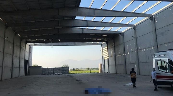 Manisa'da inşaatın çatısından düşen işçi yaşamını yitirdi