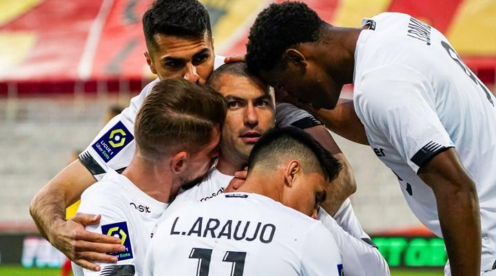 Burak Yılmaz iki gol attı,Lille liderliğini sürdürdü