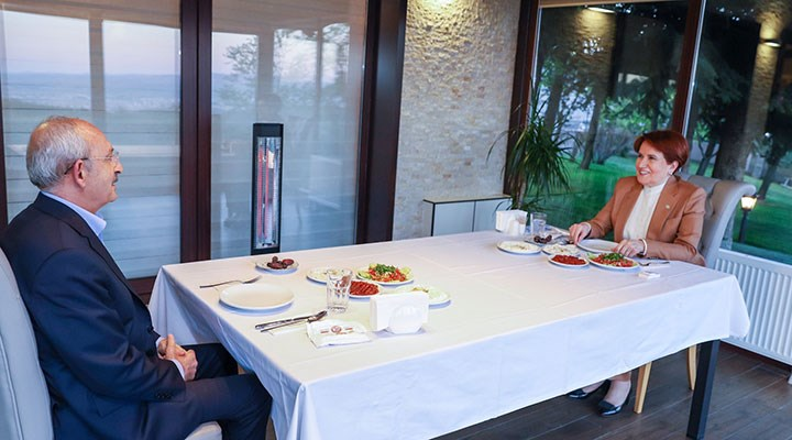 Akşener ile Kılıçdaroğlu iftarda buluştu