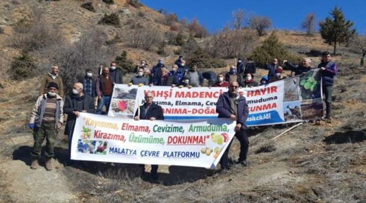 Malatya Çevre Platformu: Kentte bir doğa talanı yaşanıyor