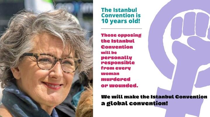 Avrupa Yeşiller Partisi Eş Sözcüsü'nden Türkiyeli kadınlara destek: İstanbul Sözleşmesi'ni Dünya Sözleşmesi yapacağız
