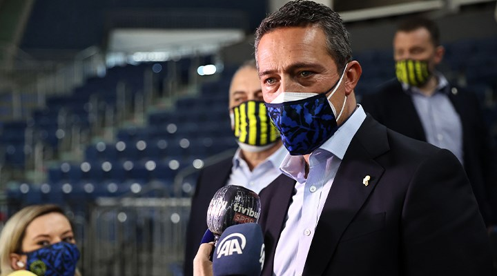 Fenerbahçe Başkanı Ali Koç'tan şampiyonluk açıklaması