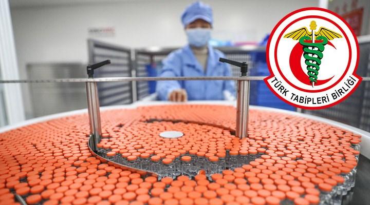 TTB'den çağrı: Aşıda patent kaldırılmalı