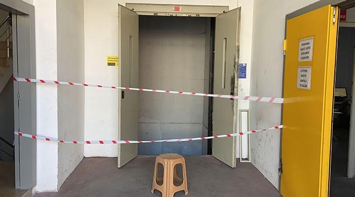 Esenyurt'ta asansör boşluğuna düşen kurye hayatını kaybetti
