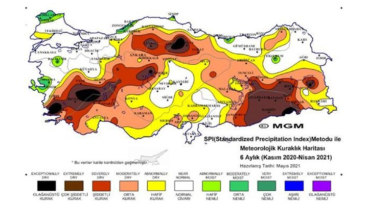 Meteoroloji'den endişe veren rapor: Kuraklık tehdidi büyüyor