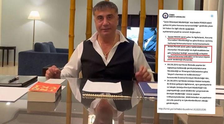"""AKP'li Çelik 'belge' istedi, CHP'li Başarır paylaştı: Emniyet'ten """"Peker'e koruma"""" yazısı"""