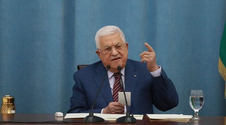 Filistin Devlet Başkanı Abbas'tan İsrail ve ABD'ye: Vatanımızdan çıkmayacağız