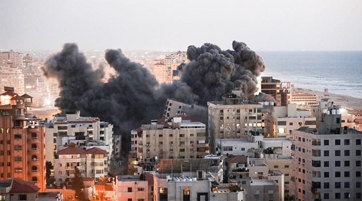 İsrail saldırıyor, Filistin direniyor