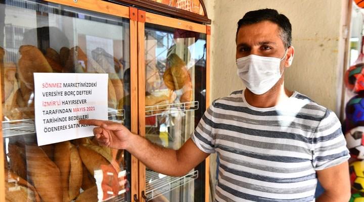 İzmir'de veresiye defterleri kapatılıyor: 102 bakkalın 1 milyon 300 bin liralık borcu kapatıldı