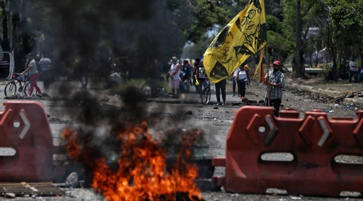 Kolombiya'da şiddet son bulmuyor