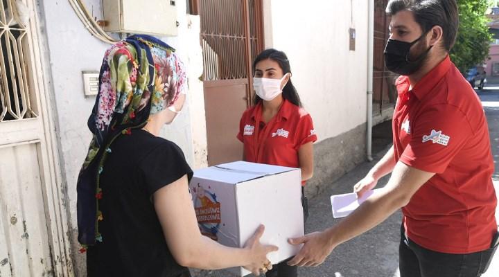 Adana Büyükşehir Belediyesinde'den ihtiyaç sahiplerine alışveriş kartı ve bebek bakım seti