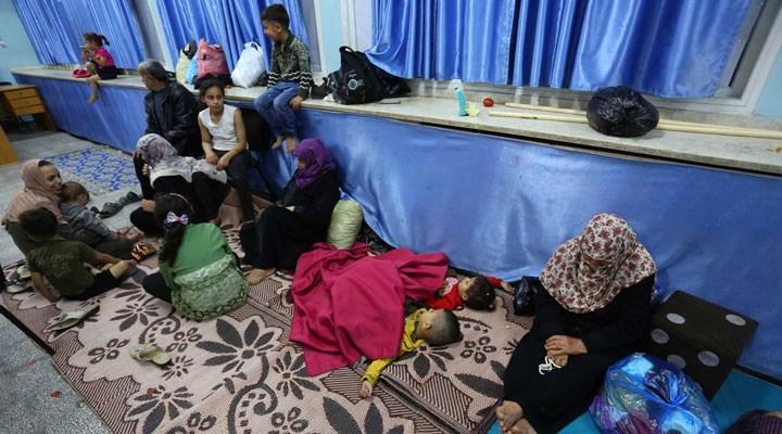 BM: 10 bine yakın Filistinlinin evlerini terk etmek zorunda kaldığı tahmin ediliyor