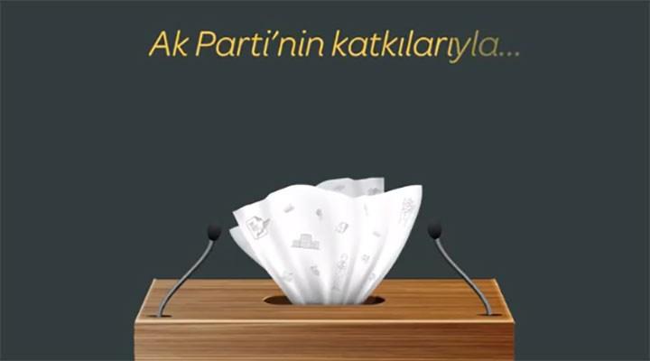Akşener'den 'selpak siyaseti' videosu