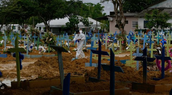 Peru'da Covid-19 salgını nedeniyle mezarlıklarda yer kalmadı