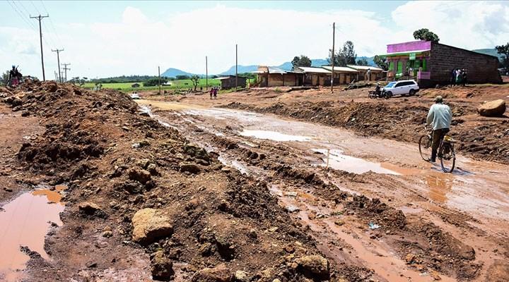 Kenya'daki sel felaketinde 7 bin kişi evini terk etti