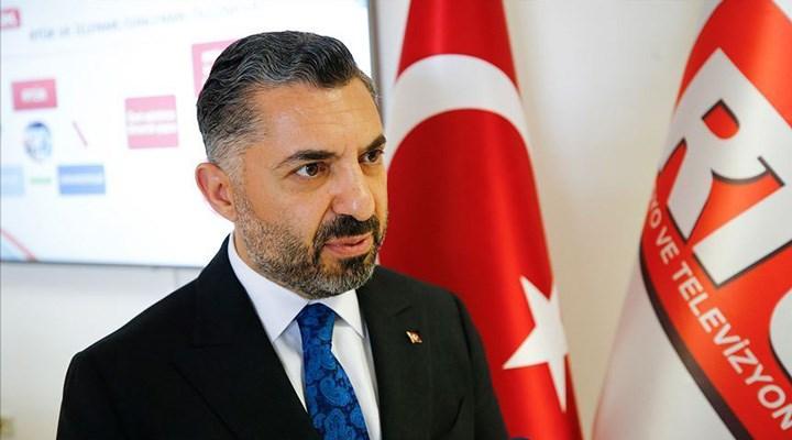 RTÜK Başkanı Şahin, muhalefete yüklendi: Bize iktidar savunucusu demek aymazlıktır