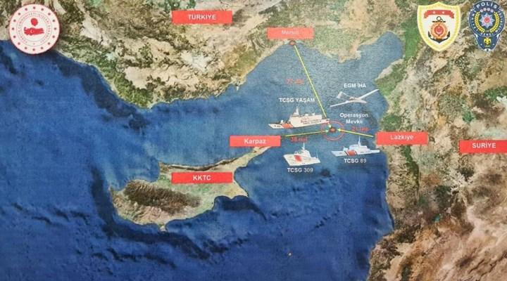 Soylu: Suriye açıklarında bir gemide 1,5 tonun üzerinde esrar ele geçirildi