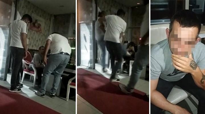 Yolcuyu sözle taciz eden taksiciyi taksiciler dövdü