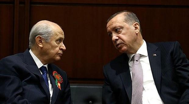 Erdoğan ile Bahçeli buluştu