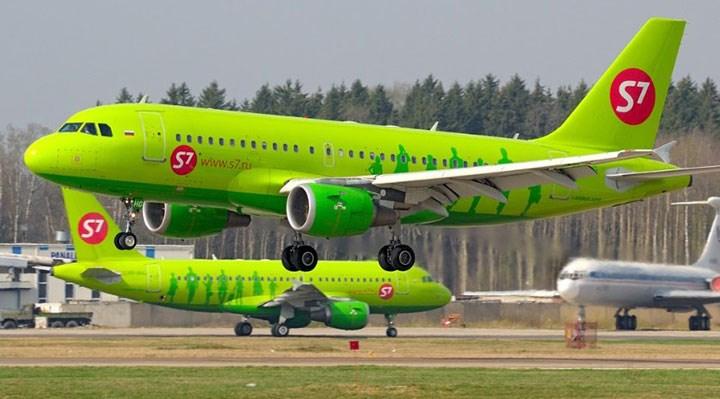 Rus S7 Havayolları, Türkiye uçuşlarını yaz sonuna kadar askıya aldı