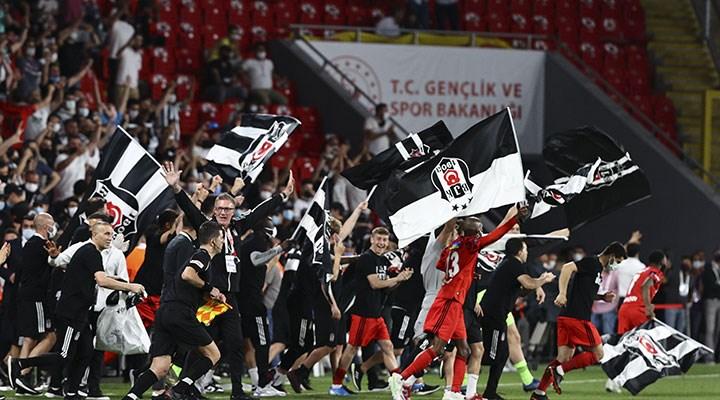 Ziraat Türkiye Kupası Beşiktaş'ın oldu