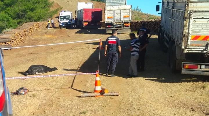 Muğla'da kamyonun ezdiği orman işçisi hayatını kaybetti