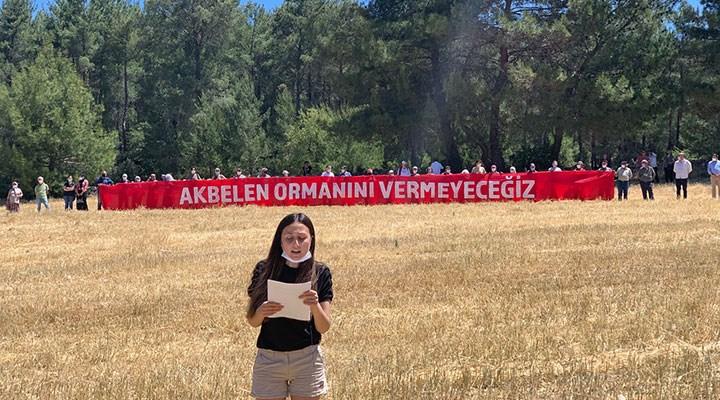 İkizköylüler: Akbelen Ormanını vermeyeceğiz