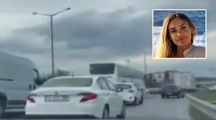 Futbolcu Adem Büyük'ün eşi, 'bir siyasetçi dostunun' çakarlı-sirenli aracıyla trafikte eğlendi