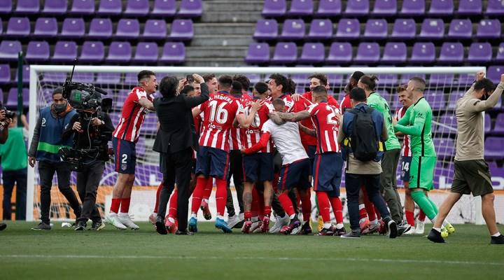 La Liga'da şampiyon Atletico Madrid