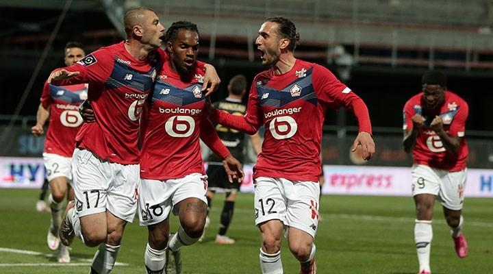 Fransa'da şampiyon Lille oldu