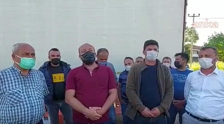TIR şoförlerinden fabrika önünde zam nöbeti: Mazota var, maaşa yok